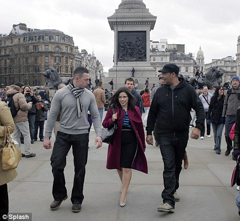 And Nelson's Column: The whistlestop tour included the historic  landmark