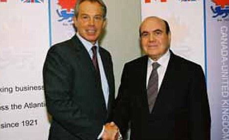 Tony Blair and Dahdaleh