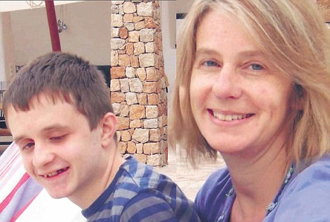 Virginia Bovell fears for the future of her autistic son Danny
