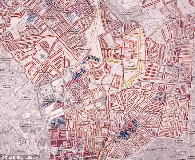 Map of London poverty