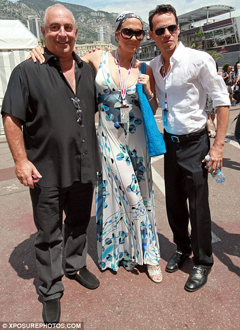 Cannes 2010 Jennifer Lopez Visits Lakshmi Mittal And Sir