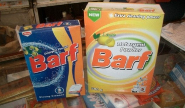 Iranian washing powder... the results will make you sick