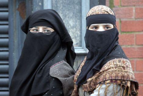 Women in Burkhas