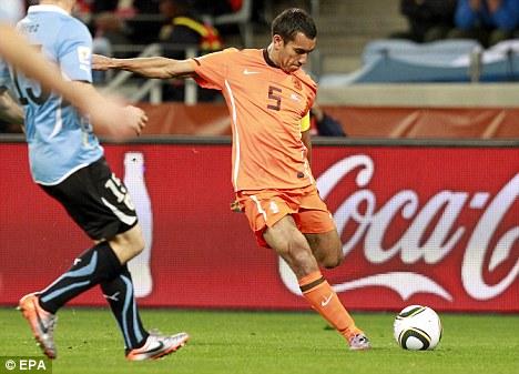 Image result for van bronckhorst goal