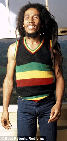 bob marley s son damian shows off dreadlocks that nearly touch the ground daily mail online
