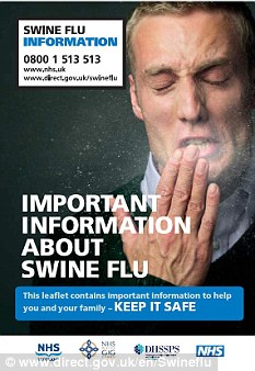 Safety first: The swine flu pandemic was met with an extensive information campaign
