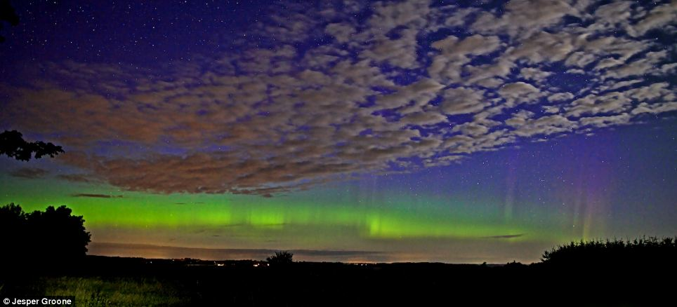 Northern Lights Michigan Tonight