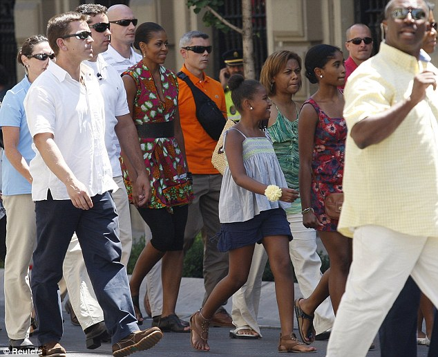 Michelle Obama in Spain (August 2010)