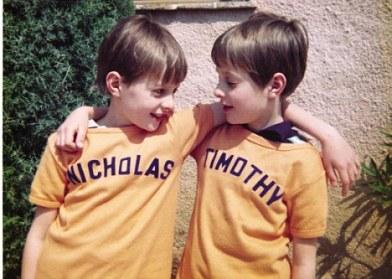 Tim and Nicholas Knatchbull