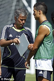 This is what I want you to do this season: Mourinho speaks with Ronaldo