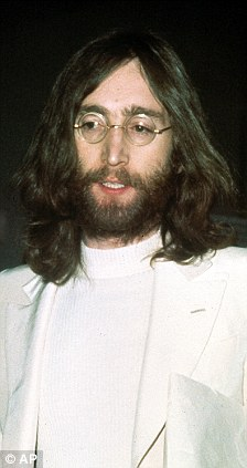 Jealous Guy: Lennon snapped in 1969, sporting his trademark beard