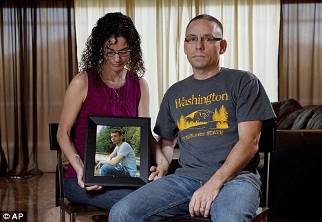 Whistle-blower: But Adam Winfield's words and fears fell on deaf  ears, according to his parents