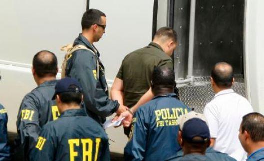 Image result for Photos of FBI corruption raid