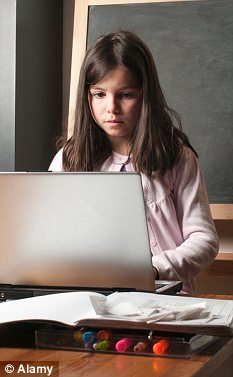 Spending just two hours in front of computers or the TV can make children unhappy, a study has found