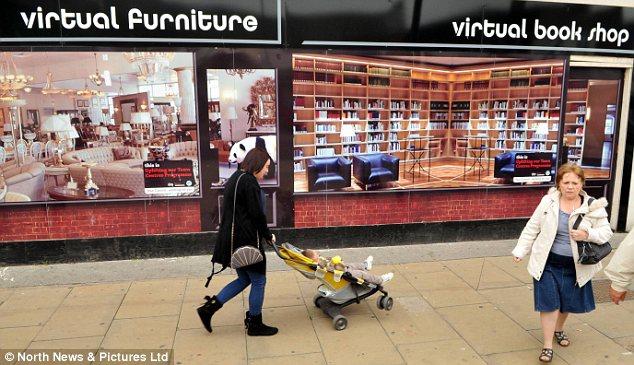 W-commerce window stores