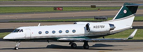 Abduction link: Mr Morse's jet with the Red Sox logo on its tail fin