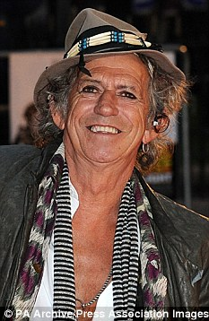 Still rocking and rolling: Keith Richards has recently published his autobiography, Life