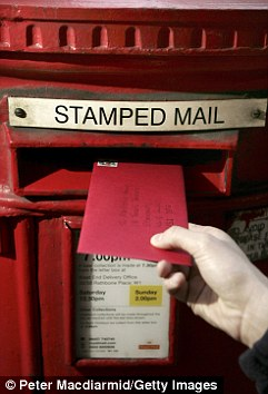 Royal Mail could increase the cost of of a stamp has been branded an 'extra tax on the public'