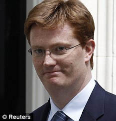 More transparent: Danny Alexander said plants to improve accountability in Whitehall represented a 'quiet revolution'