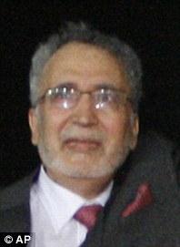 Libyan Abdel Baset al-Megrahi, who was found guilty of the 1988 Lockerbie bombing