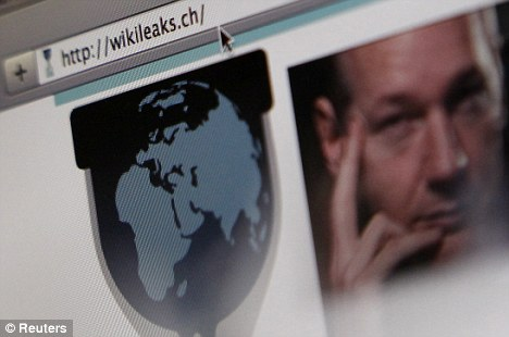 Mr Assange's lawyer has warned WikiLeaks was holding a 'thermo-nuclear device' of further secret information