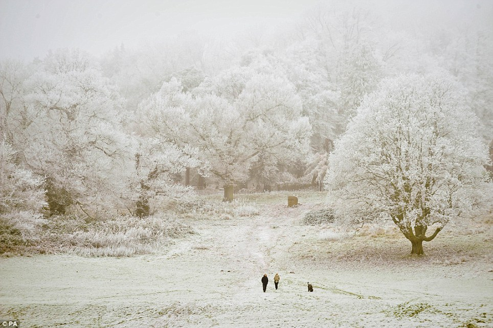 UK Weather Snow And Frost Turn Britain Into A Winter