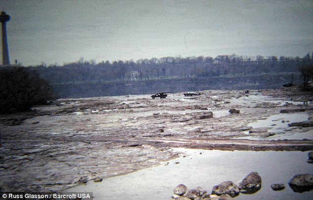 Plan: The U.S. Army Corp of Engineers studied the riverbed and mechanically bolted and strengthened a number of faults to delay the gradual erosion of the American Falls
