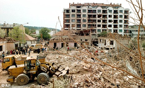 Beyond repair? Eleven years after the bombing of the country, Serbia is still trying to recover from the £38bn of damage the U.S./UK attack caused