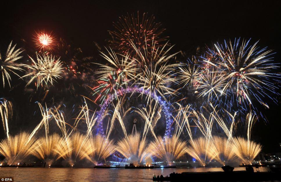 London Firework 2012