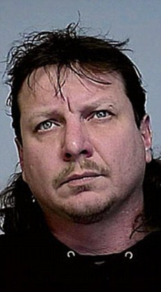 Accused: Terry Allen Lester has been charged after police found an explosive sex toy in his luggage