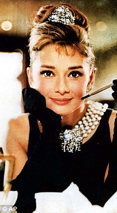Inspiration? The do was similar to the one made famous by Audrey Hepburn