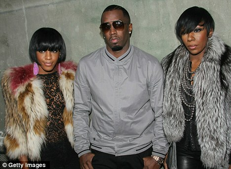 Bad boy for life: Diddy and his Dirty Money bandmates brought some swag to the streets of Paris