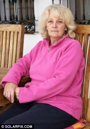 Stranded: Marian's problems were exacerbated by her lack of income and the falling pound against the euro