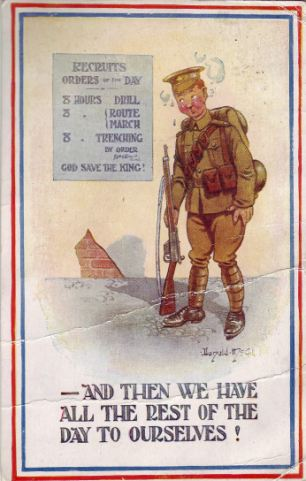 First World War Soldiers Card Home Is Finally Delivered