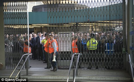Threat: London Underground strikes cause huge chaos for commuters but the new unit could bring in staff at short notice to limit the effect of the walkouts