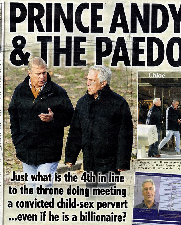 "Image result for ""shaun woodward"" + prince andrew"""