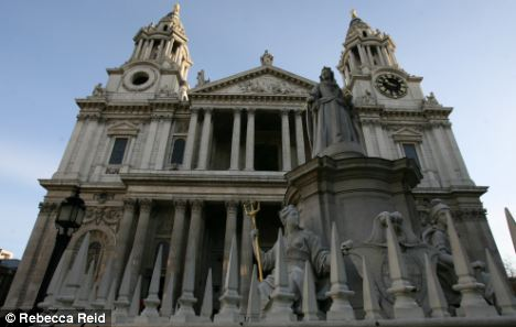 St. Paul's Cathedral has close ties with the school for choirboys, where the abuse took place in the 1980s