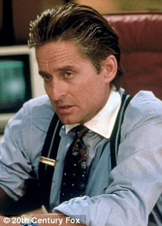 Greed: Trader Gordon Gekko from Wall Street. Now big six-figure bonuses are back