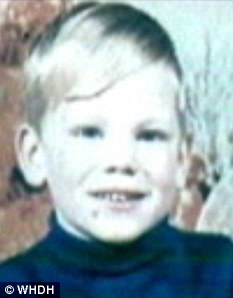 Victim: Jason Foreman was snatched on his mother's 25th birthday. His bones were found nearly eight years later, stashed in Woodmansee's dresser