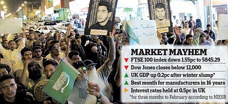 graphic on market plunge