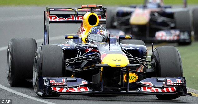 In the fast lane: Sebastian Vettel was a cut above the rest