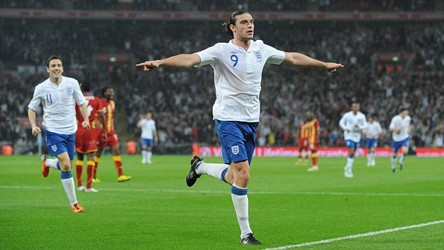 Image result for andy carroll england