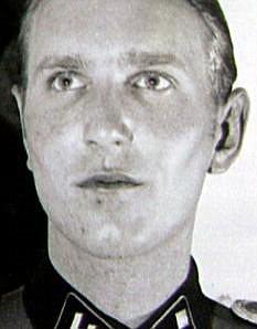 Nazi: Samuel Kunz as a young man in uniform