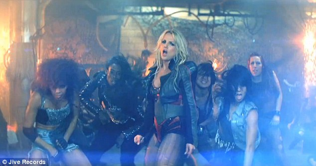 It's the end of the world as we know it: Britney Spears gets her post-apocalyptic groove on in the video for her latest single Till The World Ends