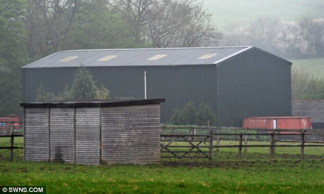 Disguise: This building may look like a barn from the outside, but its interior contained three bedrooms and a gym