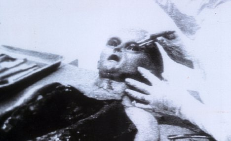 Autopsy: A dead alien is allegedly examined following the landing at Roswell