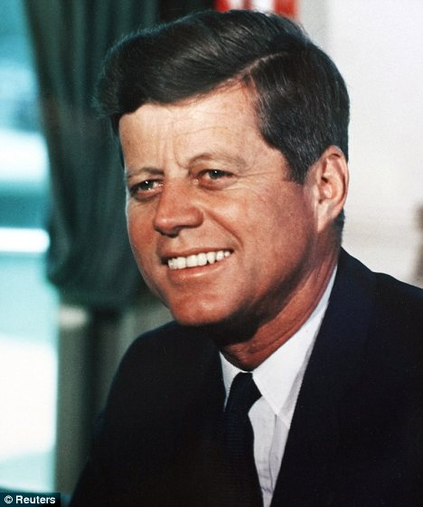 Disputed: In the 'burned memo' the CIA director allegedly wrote: 'Lancer [JFK] has made some inquiries regarding our activities, which we cannot allow'
