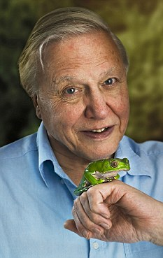 Warning: Sir David Attenborough encouraged population growth control