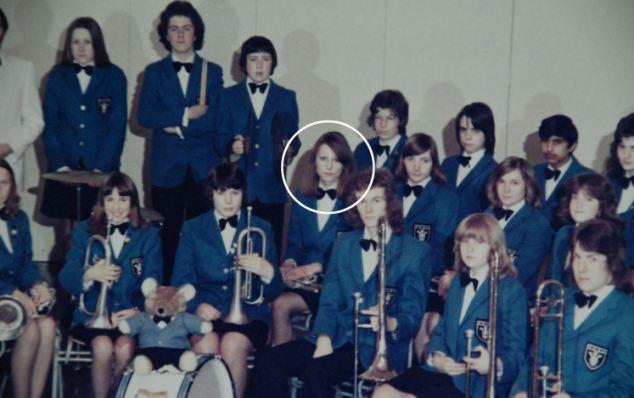 Royal Wedding Carole Middleton Pictured Played Cornet In