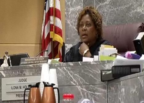 Broward Circuit Court Judge Ilona Holmes was ordered at gun point by several Broward Sheriffs Deputies on Easter Sunday to come out with her hands up